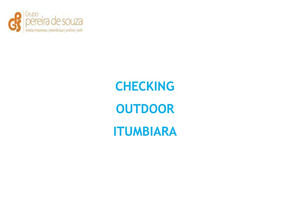 CHECKING OUTDOOR ITUMBIARA