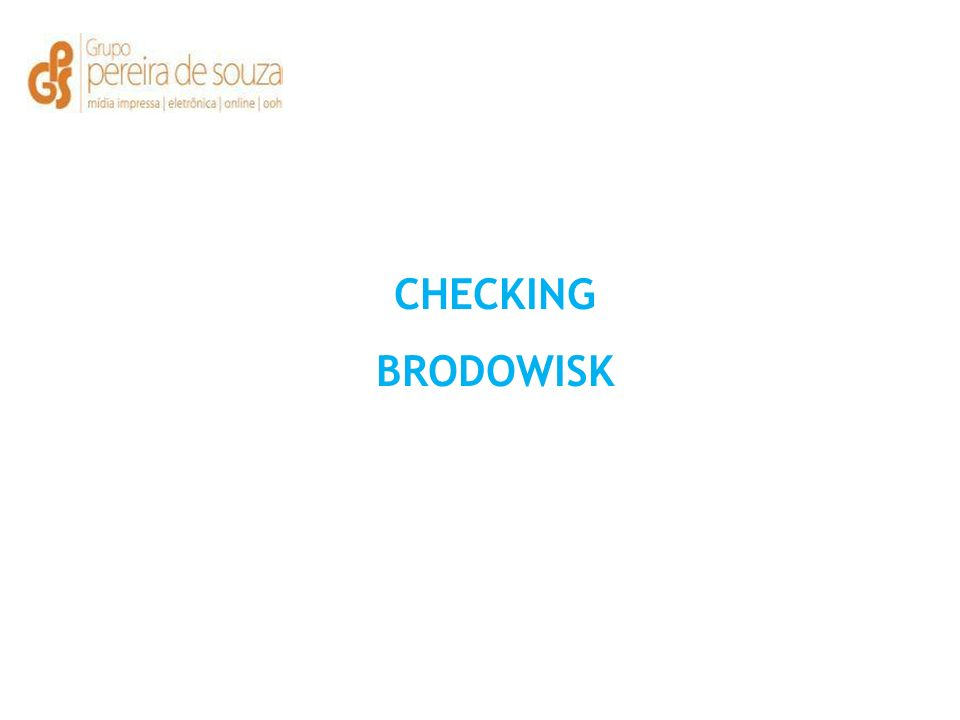 CHECKING BRODOWISK