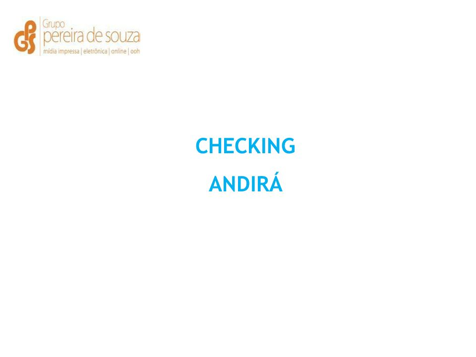 CHECKING ANDIRÁ