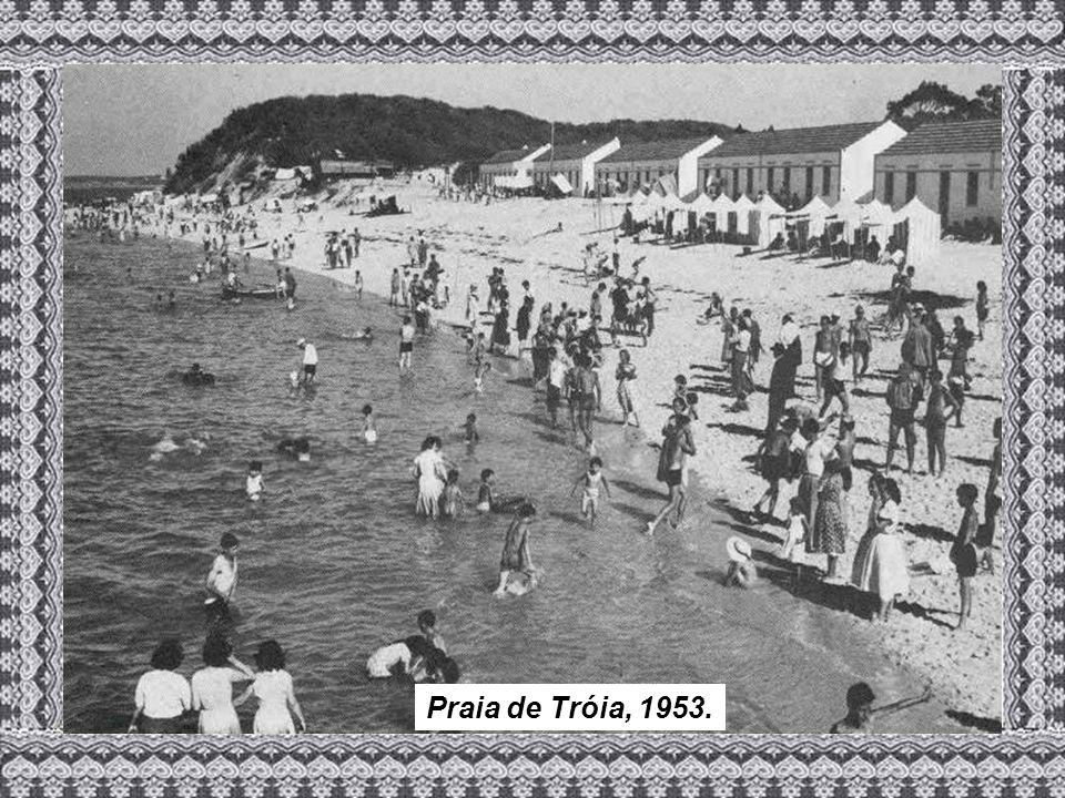 Praia de Tróia, 1953.