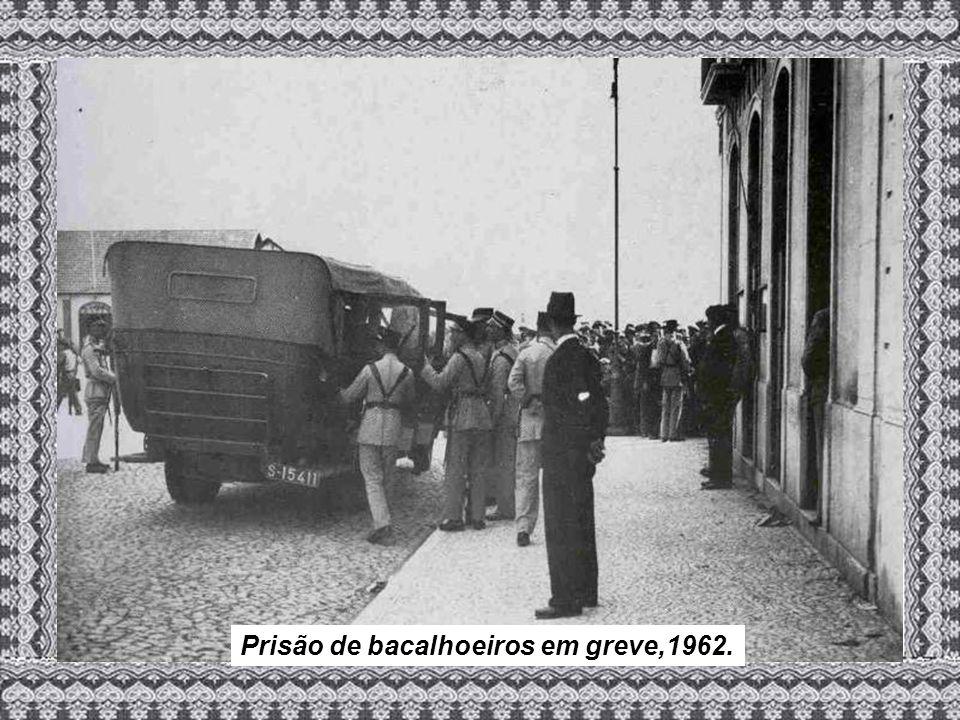 Prisão de bacalhoeiros em greve,1962.