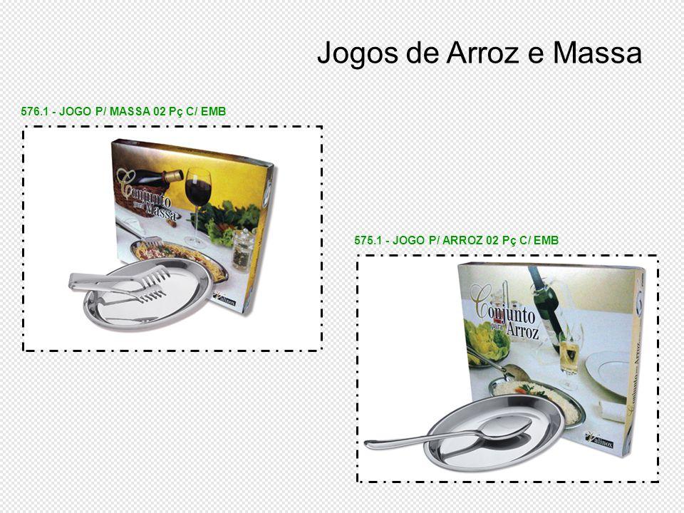 Jogos de Arroz e Massa 576.1 - JOGO P/ MASSA 02 Pç C/ EMB