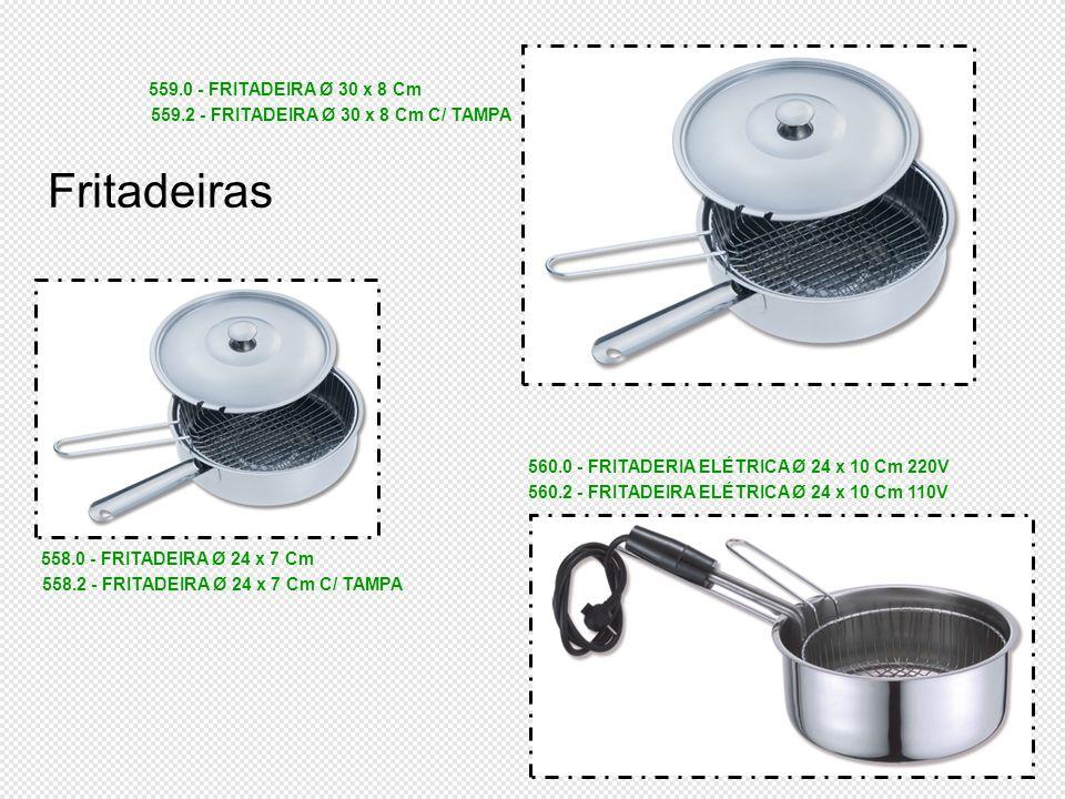 Fritadeiras 559.0 - FRITADEIRA Ø 30 x 8 Cm