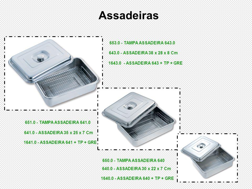 Assadeiras 653.0 - TAMPA ASSADEIRA 643.0