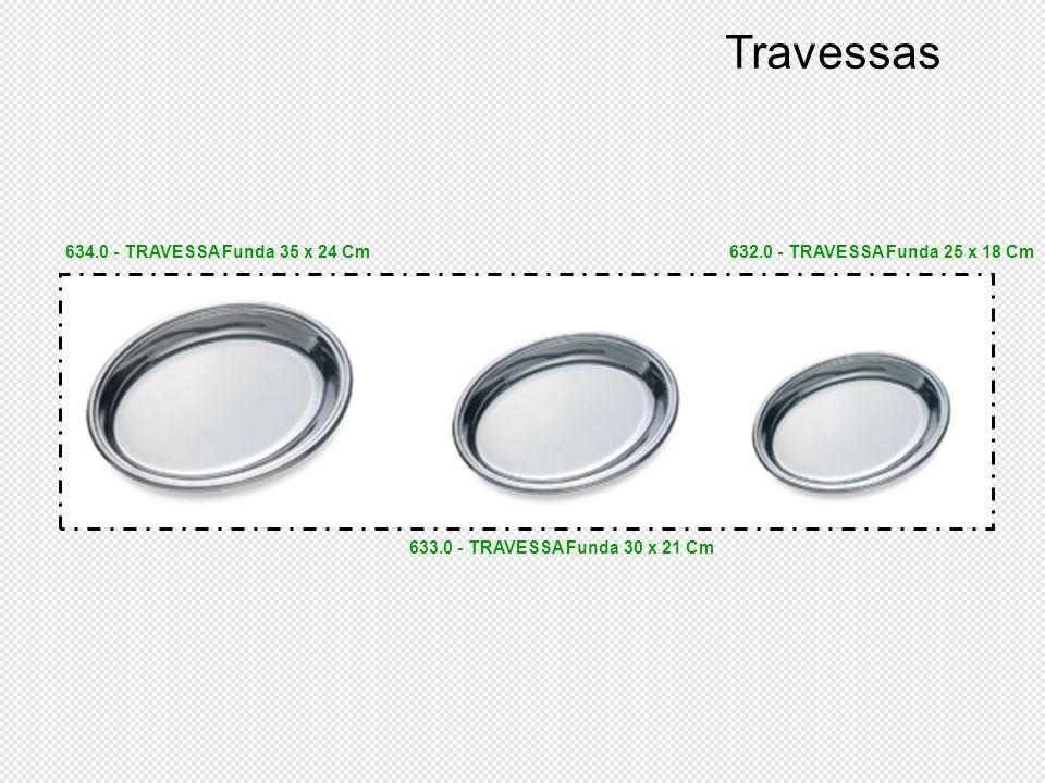 Travessas 634.0 - TRAVESSA Funda 35 x 24 Cm