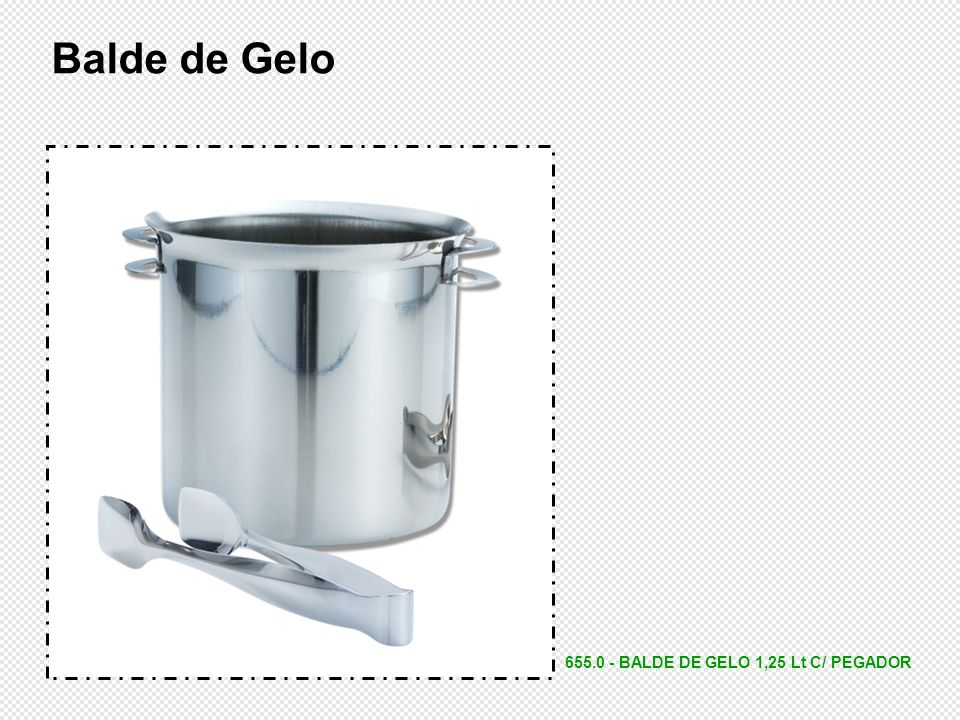 655.0 - BALDE DE GELO 1,25 Lt C/ PEGADOR