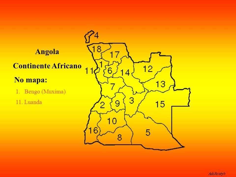 Angola Continente Africano