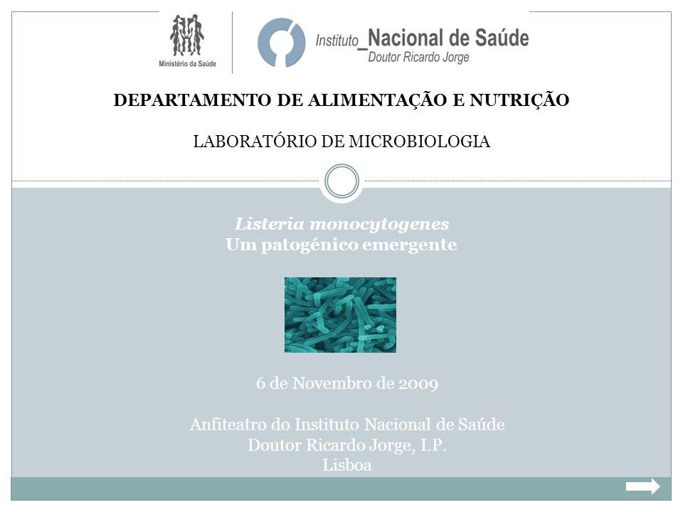 DEPARTAMENTO DE ALIMENTAÇÃO E NUTRIÇÃO