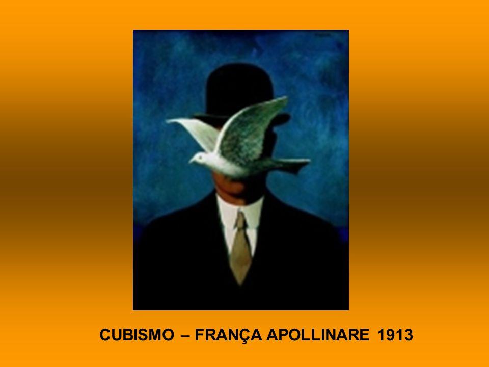 CUBISMO – FRANÇA APOLLINARE 1913