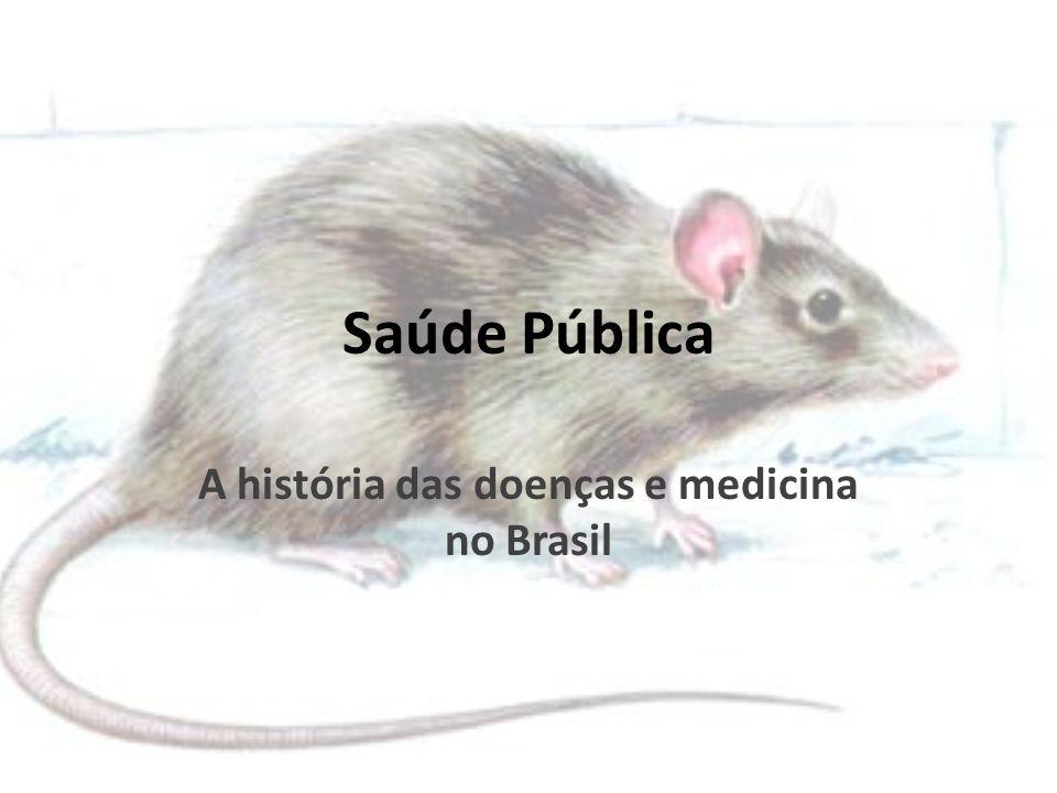 A história das doenças e medicina no Brasil