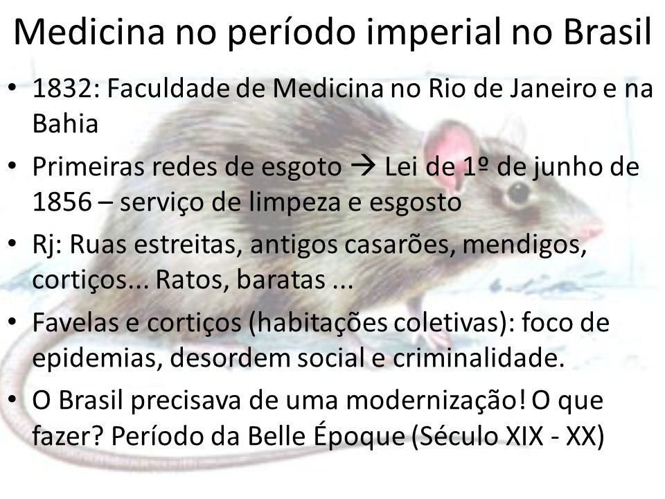 Medicina no período imperial no Brasil