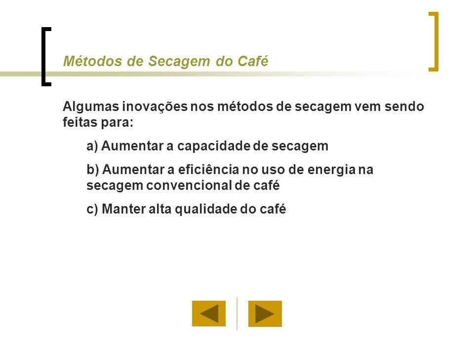 Métodos de Secagem do Café