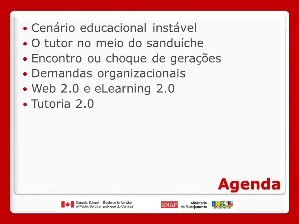 Agenda Cenário educacional instável O tutor no meio do sanduíche