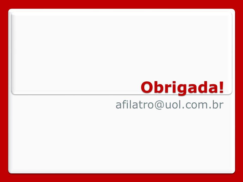 Obrigada! afilatro@uol.com.br