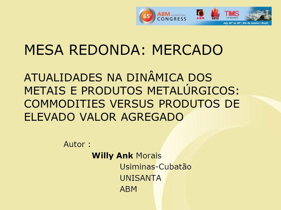 Autor : Willy Ank Morais Usiminas-Cubatão UNISANTA ABM