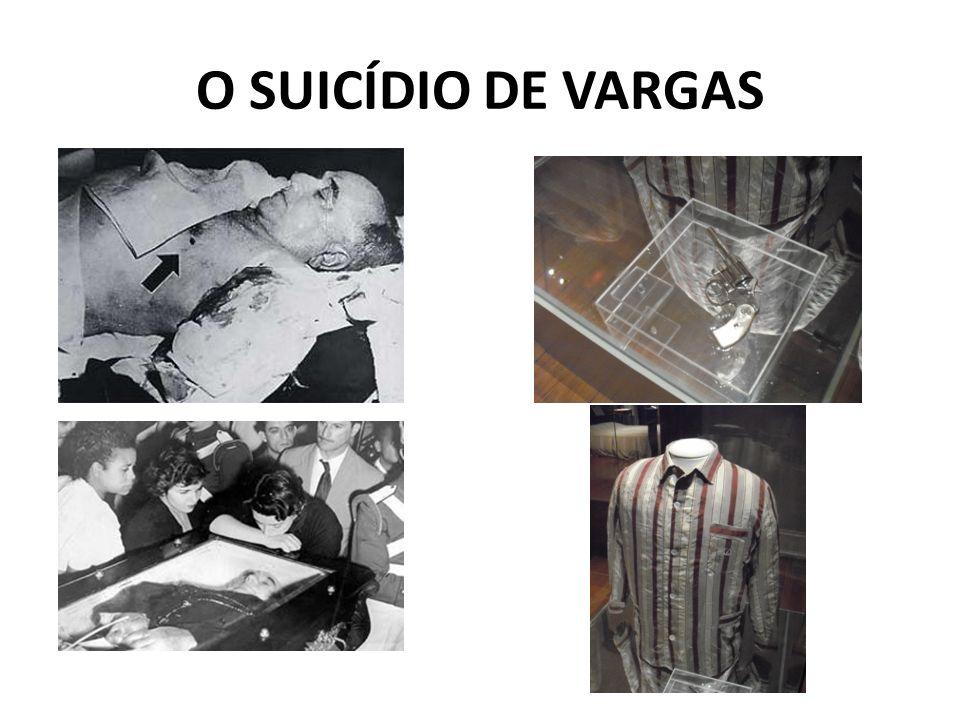 O SUICÍDIO DE VARGAS