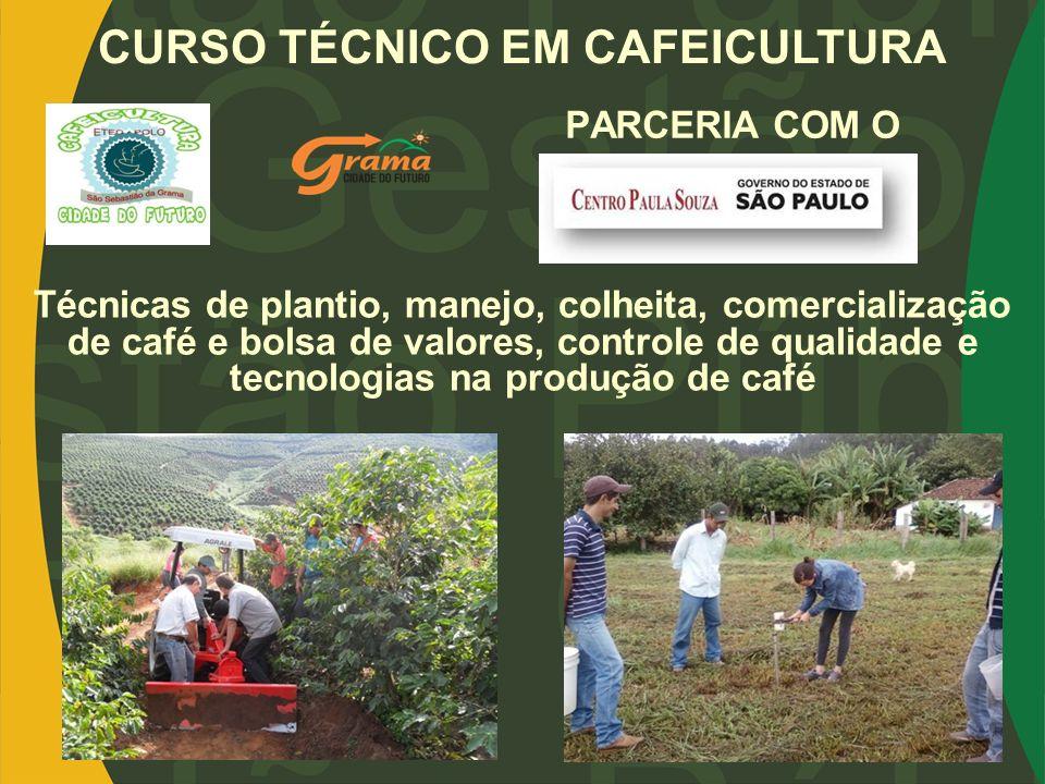 CURSO TÉCNICO EM CAFEICULTURA