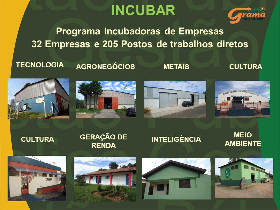 INCUBAR Programa Incubadoras de Empresas