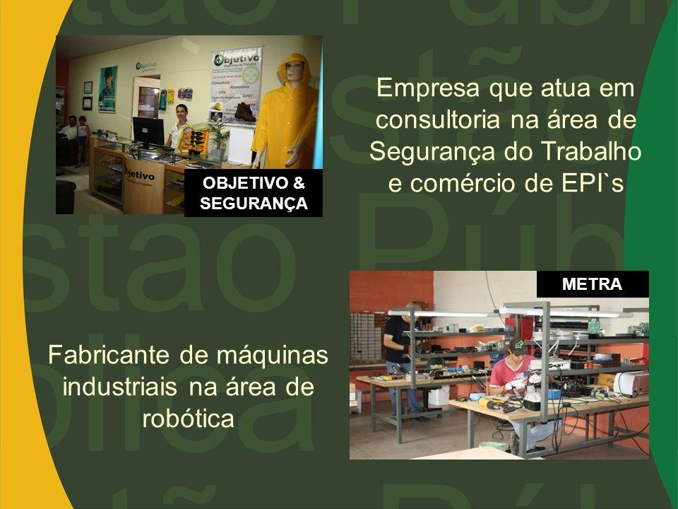 Fabricante de máquinas industriais na área de robótica