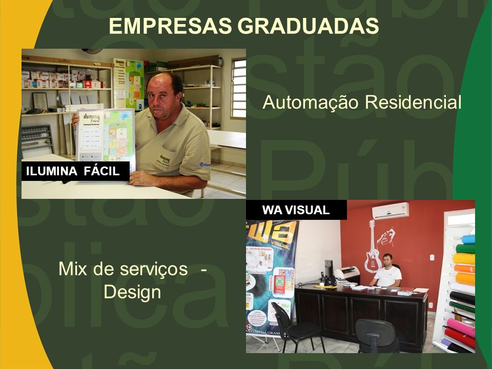 Mix de serviços - Design