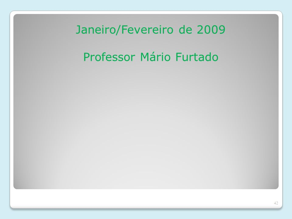 Professor Mário Furtado