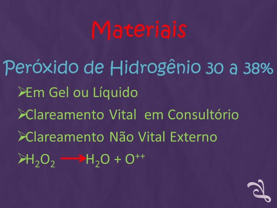 Peróxido de Hidrogênio 30 a 38%