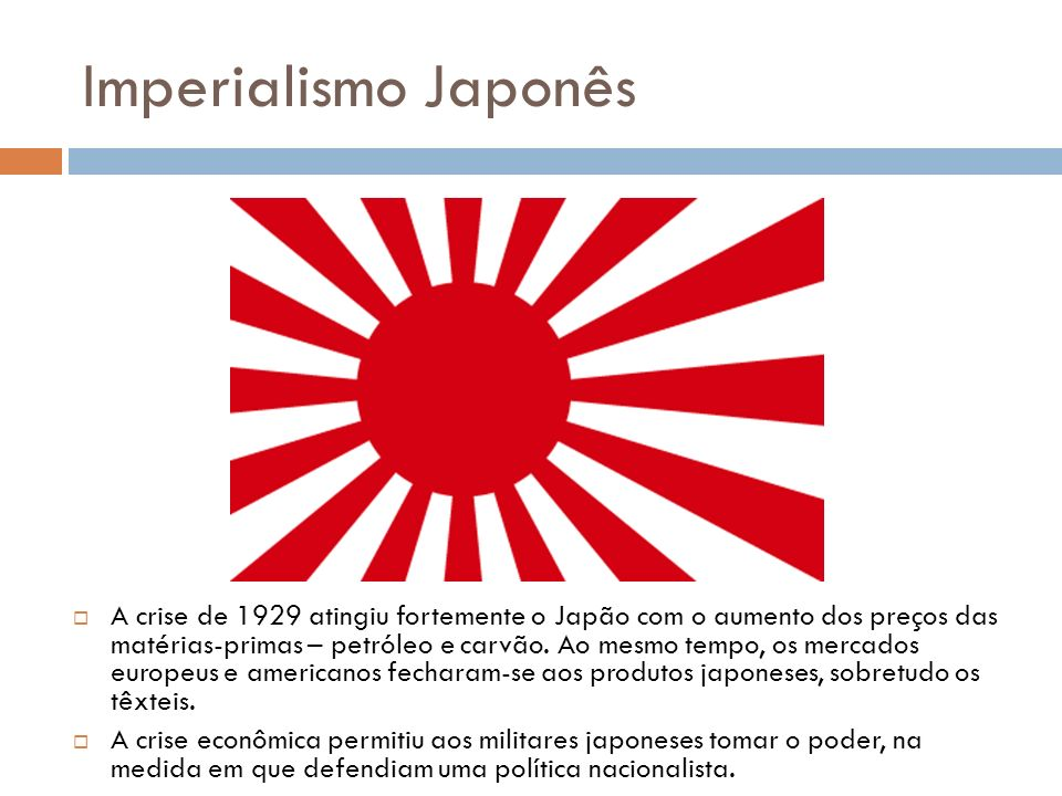 Imperialismo Japonês
