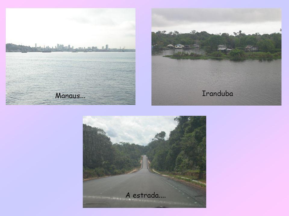 Iranduba Manaus... A estrada....