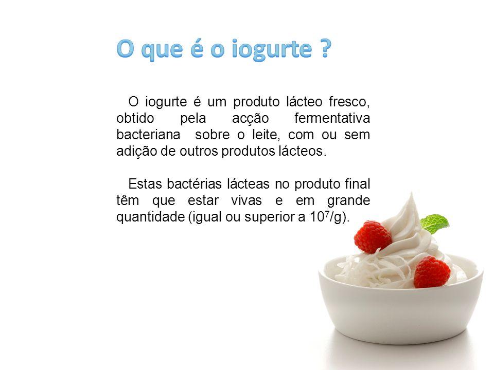 O que é o iogurte