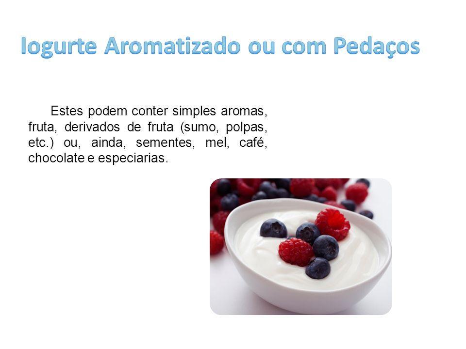 Iogurte Aromatizado ou com Pedaços