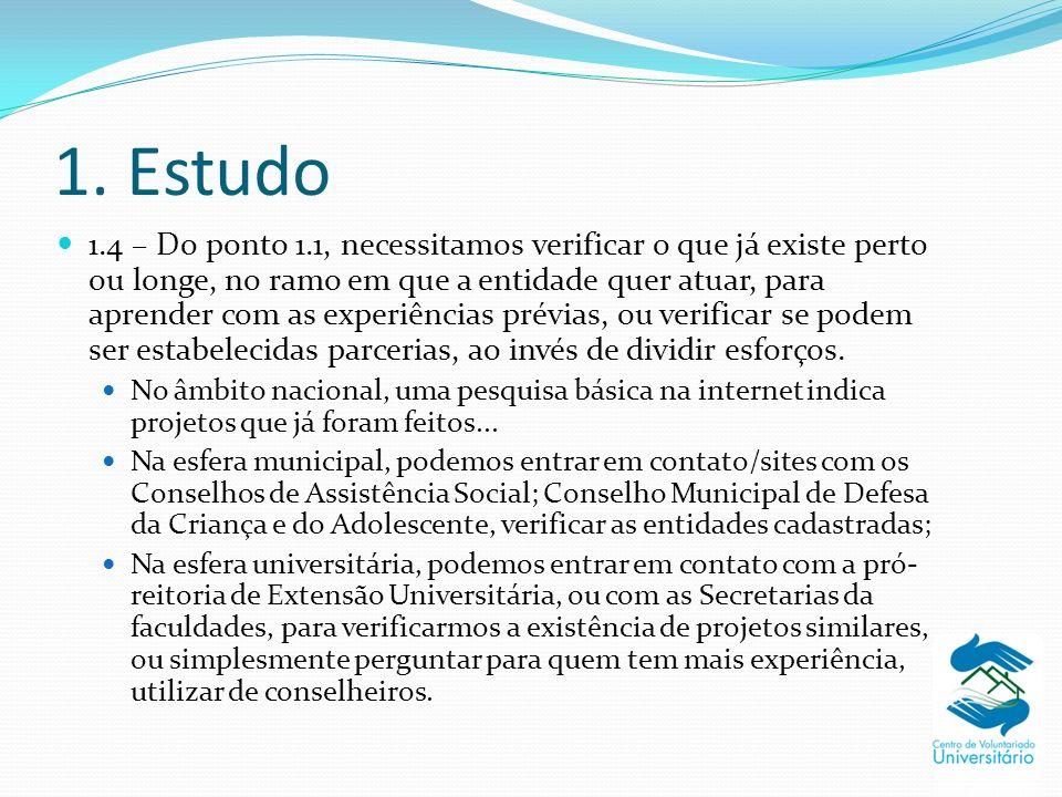 1. Estudo