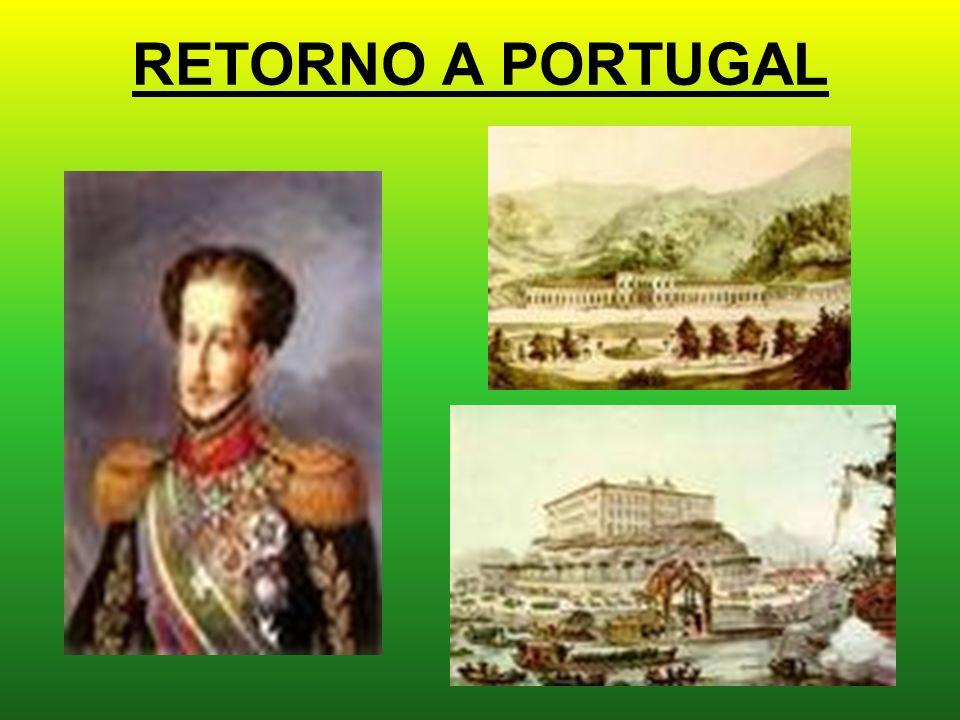 RETORNO A PORTUGAL