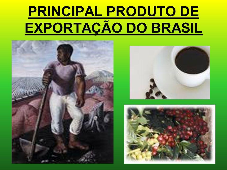 PRINCIPAL PRODUTO DE EXPORTAÇÃO DO BRASIL