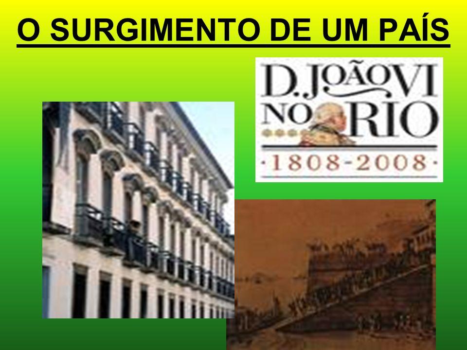 O SURGIMENTO DE UM PAÍS