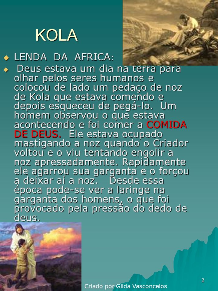 KOLA LENDA DA AFRICA: