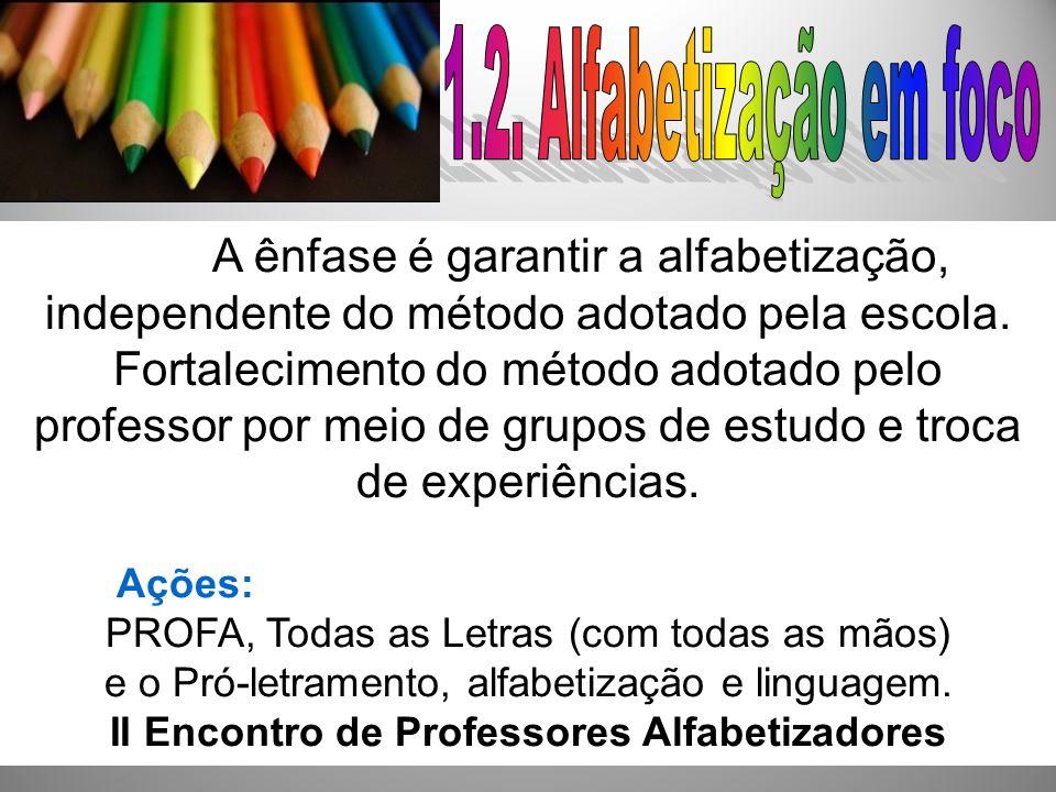 II Encontro de Professores Alfabetizadores