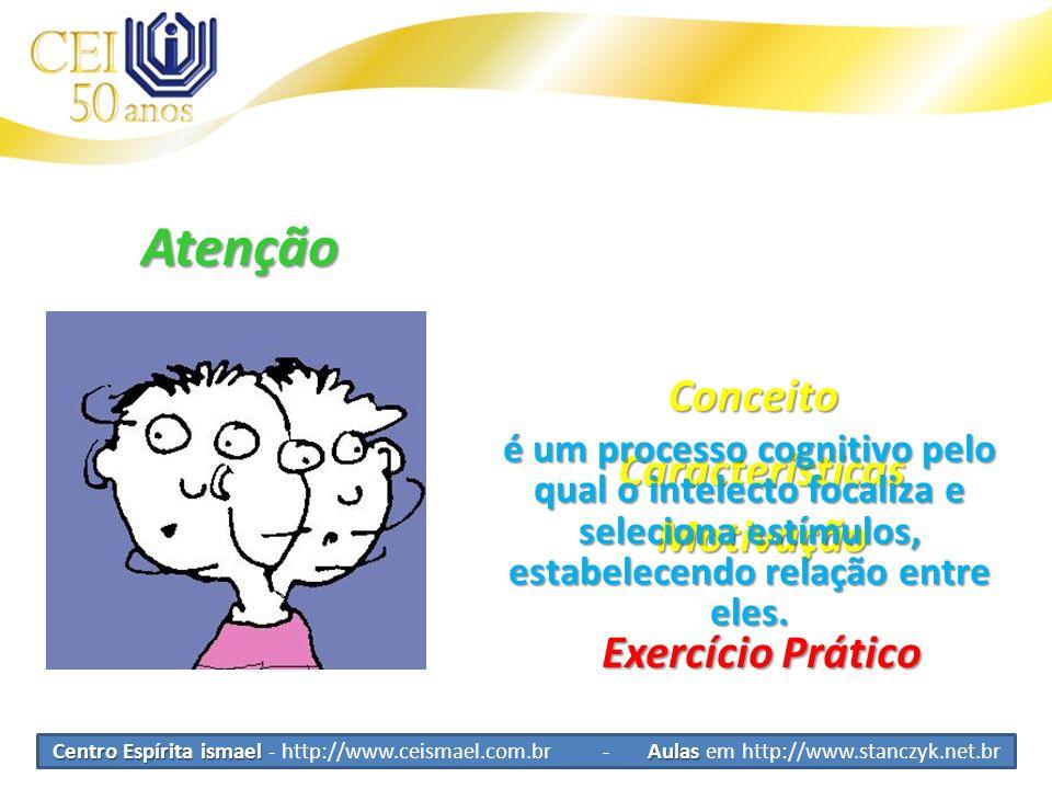 Atenção Conceito Características Motivação Exercício Prático
