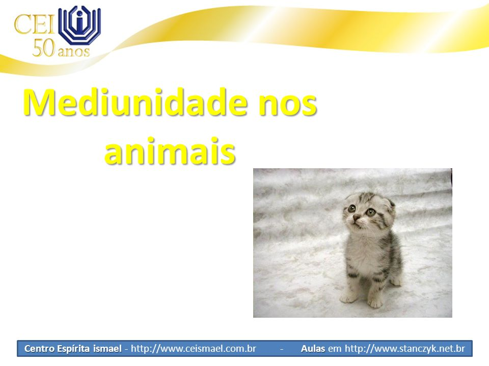 Mediunidade nos animais