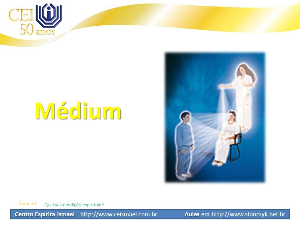 Médium O que é Qual sua condição espiritual