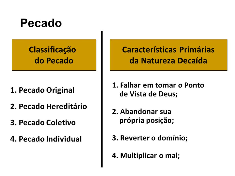 Características Primárias