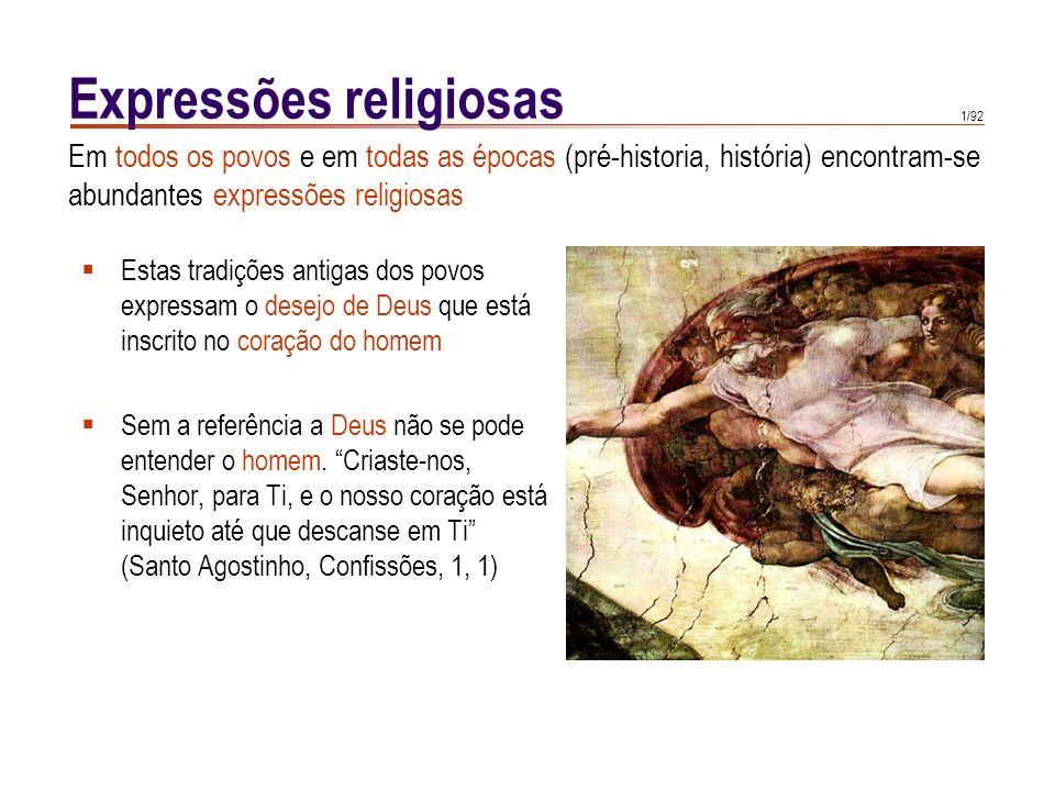 Revelação natural A revelação natural de Deus prepara a revelação sobrenatural.