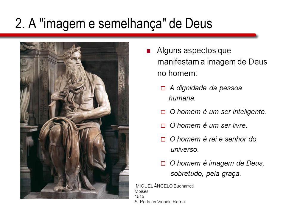 2. A imagem e semelhança de Deus