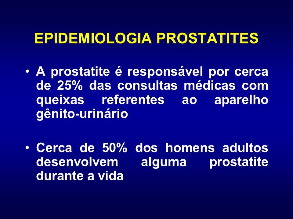 EPIDEMIOLOGIA PROSTATITES