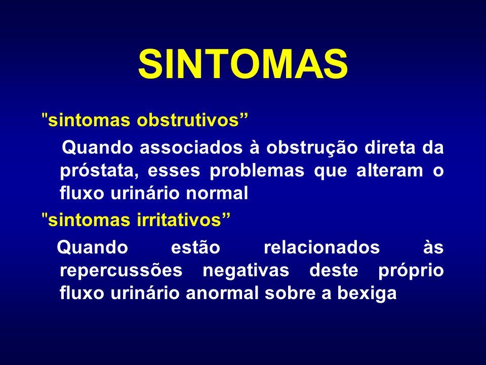 SINTOMAS sintomas obstrutivos