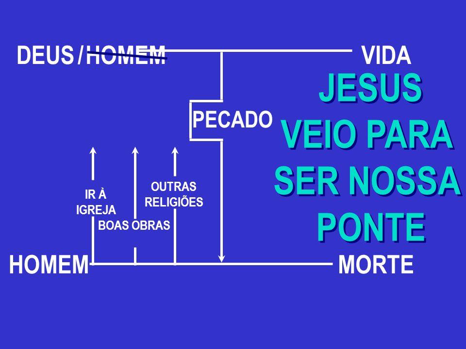 JESUS VEIO PARA SER NOSSA PONTE