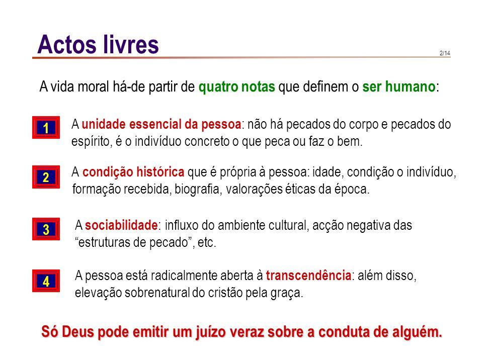 Actos humanos e actos do homem