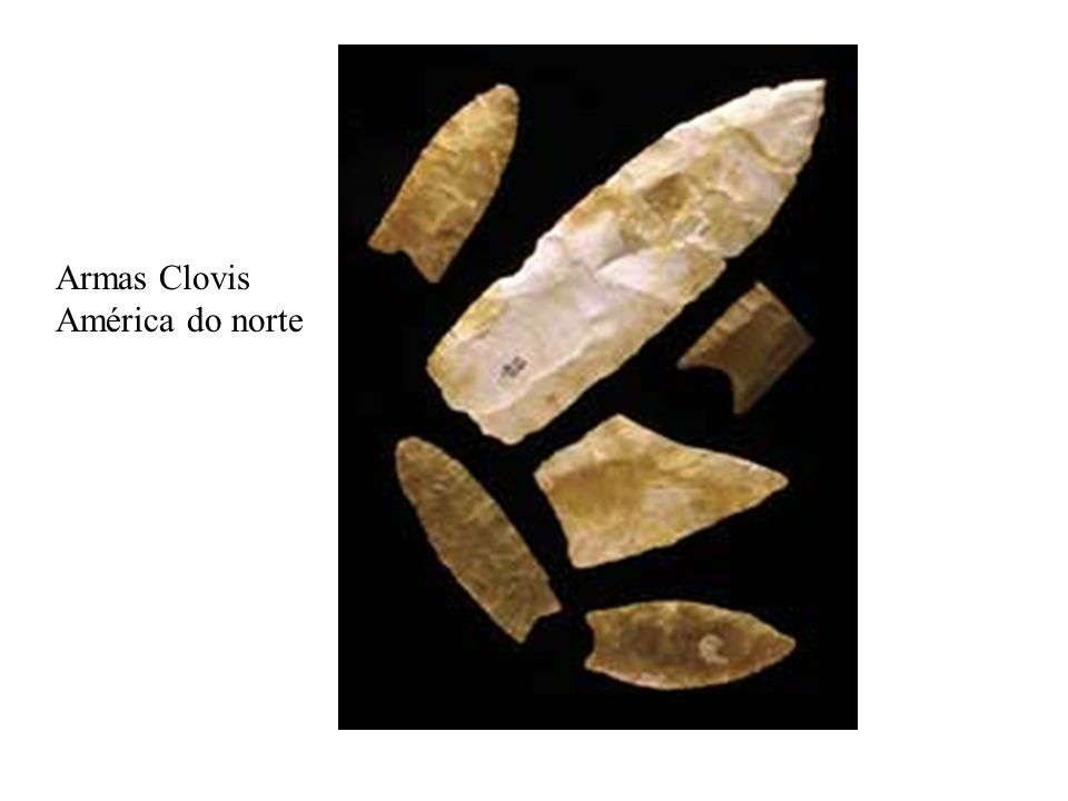 Armas Clovis América do norte