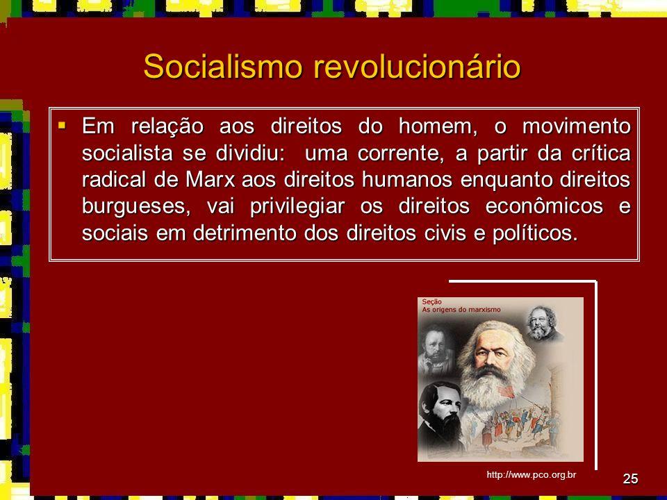Socialismo revolucionário