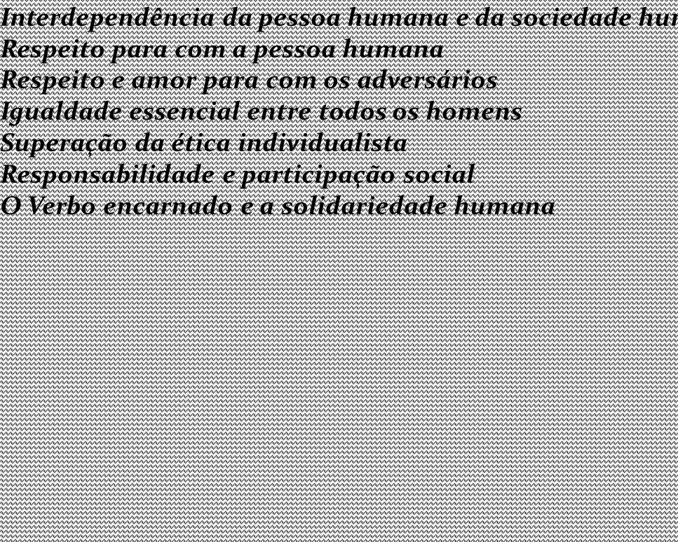 CAPÍTULO II A COMUNIDADE HUMANA