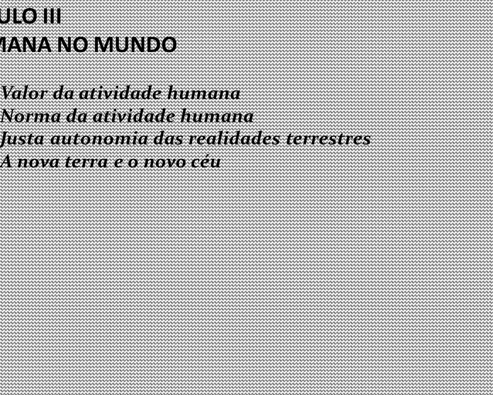 A ATIVIDADE HUMANA NO MUNDO